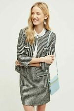 Anthropologie Striped Boucle Jacket by Harlyn Size XS