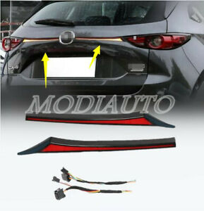 For 2017-2018 2019 2020 21 Mazda CX5 CX-5 LED Rear Door Trunk Tail Light Cover