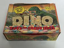1988 UK Topps Dino Toys Candy Eggs FULL Box - Like Garbage Pail Kids Cheap Toys