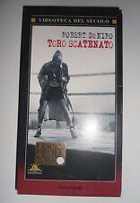 VHS TORO SCATENATO Martin Scorsese Robert De Niro Joe Pesci Jake La Motta Boxe