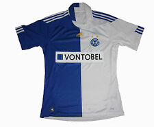 Grasshopper Zürich Shirt Home 2010/12 Adidas Schweiz Maillot Shirt Jersey M