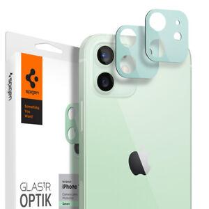For iPhone 12 12 Pro 12 Pro Max 12 Mini   Spigen® [tR Optik] Camera Cover