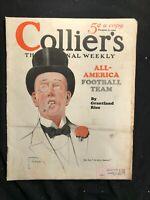COLLIERS Magazine complete- Dec 1926 - ART DECO ILLUSTRATIONS  American Football