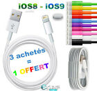 CABLE COULEUR USB CHARGEUR iPhone 6 6+ 5 5S 5C / iPad 4 Air Mini iTouch 5 NANO 7