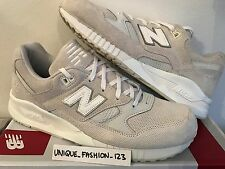 NEW Balance 530 AW US 9 UK 8.5 42 ENCAP Mono White Sneaker Grau Gray M530AW