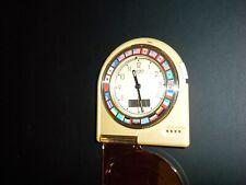 Rare Vintage Seiko ~ Nations Flags~ World Travel Alarm Clock