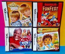 Disney Nick Jr Diego Cory Suite Life Zack Cody Garfield Nintendo DS Lite 3DS 2DS
