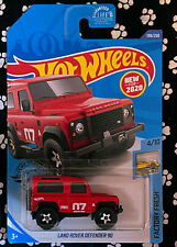Hot Wheels FACTORY FRESH 4/10 LAND ROVER DEFENDER 90
