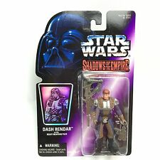 Star Wars SHADOWS OF THE EMPIRE/DASH RENDAR Action Figure/Kenner 1996 MOC SOTE