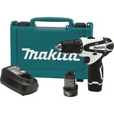 Makita FD02W 12V Max Lithium-Ion Cordless 3/8 Inch Driver Drill Full Tool Kit