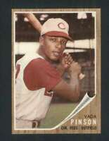1962 Topps #80 Vada Pinson NM/NM+ Reds 110693
