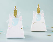 12 Unicorn Favor Boxes Baby Shower Favor Birthday Party Favors