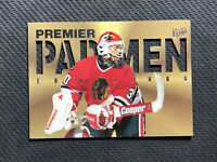 1995-96 FLEER ULTRA ED BELFOUR RARE PREMIER PAD MEN DIE-CUT #1