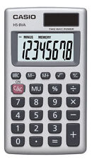Casio Inc. HS8VA Standard Function Calculator Pocket Size and Large Display