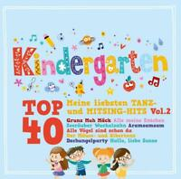 KINDERGARTEN TOP 40 VOL.2-ME - ALLE MEINE ENTCHEN,ARAMSAMSAM....   2 CD NEW