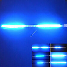 4X Blue 30CM 1Ft 32 SMD LED Strip Light Knight Rider Flash Strobe Scanner