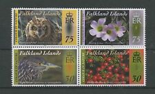 (W0437) FALKLAND ISLANDS, COLOUR IN NATURE 2012, SET IN PAIRS UM/MNH, SEE SCAN