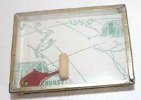 Antique Lakehurst Moor The Hindenburg Zeppelin To Its Mast USA Puzzle Game Rare