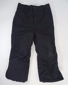 Columbia Snow Ski Pants black Kids size 4