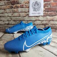 Nike Mercurial Vapor 13 Pro FG Soccer Cleats Blue AT7901 414 Men's Size 11 NEW