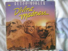 BETTE MIDLER 33 TOURS CANADA DIVINE MADNESS