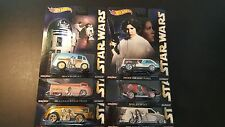 6 HOT WHEELS POP CULTURE STAR WARS LOT SET OF 6 2015 SAVE 5% WORLDWIDE FAST SHIP