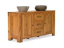 Badmöbel Waschtisch Waschbeckenunterschrank 3Schubladen massiv Holz Teak MASJA