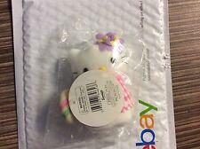 """3"""" Sanrio Smiles Stuffed Plush Hello Kitty W/ Egg"""