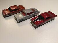 1998 Hotwheels 65 Chevy Malibu, 66 Ford Fairlane GT, 67 Dodge Charger