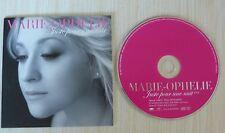 RARE CD SINGLE PROMO MARIE OPHELIE JUSTE POUR UNE NUIT 1 TITRE