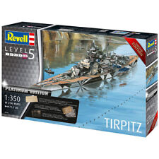 REVELL TIRPITZ (Platinum Edition) 1:350 Ship Model Kit 05160