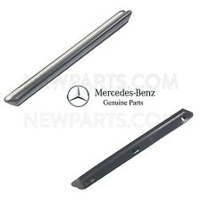 Mercedes 380SL 450SL Pair Set of Front Left and Right Fender Mouldings Genuine