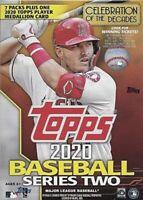 2020 Topps Series Two Baseball MLB Trading Cards Blaster Box
