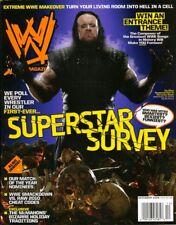 UNDERTAKER WWE Wrestling Magazine December 2009 w/Poster
