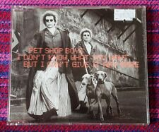 Pet Shop Boys ~ I Don't Know What You Want ( Malaysia Press ) Cd
