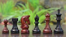 Staunton Schachfiguren - gezäumte Ritter - Rosen- /Ebenholz – chessbazaar Indien