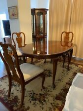 New ListingDining Room Set 6 Chairs with China Cabinette