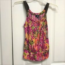 IZ Byer Tank Top Size S Floral NEW