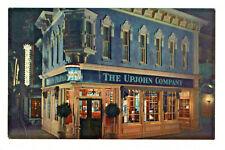 Postcard Disneyland Upjohn Corner at night Over 1000 pharmaceutical antiques. R