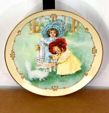 Kittys Bath Maud Humphrey Bogart Little Ladies 1990 23K Gold Collector Plate