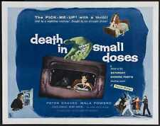 Death In Small Doses Poster 03 A2 Box Canvas Print