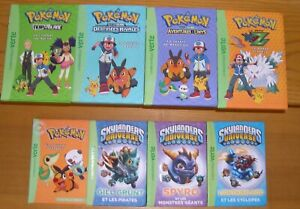 Bibliothèque verte ~Pokémon~Skylanders~Best Quest~Gormiti~6/8ans~16 Livres
