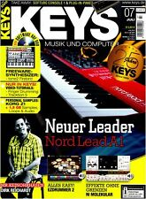 Nord Lead A1 Synthesizer Freeware tone2 Firebird - Keys DVD mit Loops Samples