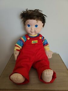 Hasbro 1985 My Buddy Brown Hair A Real Pal Plush Toy Doll