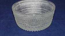 Iittala Arabia Nuutajärvi Finnland Kasthelmi Tauperle Glas Schüssel 15cm x 7,2cm