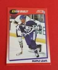 1991/92 Score Hockey Brian Bradley Card #255***Toronto Maple Leafs***