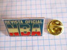 PINS RARE NBA BASKET OFFICIAL REVIEW REVISTA OFICIAL MAGAZINE OFFICIEL m1/2