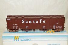 HO scale Walthers Santa Fe Ry 50' airslide covered hopper car train