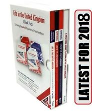Life in the UK United Kingdom 2018- 4 Books Set British Citizenship Test-lf4
