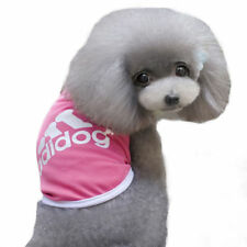 Dog Puppy Tank Shirt pink - Adidog For Larger Dogs XXL- US Seller